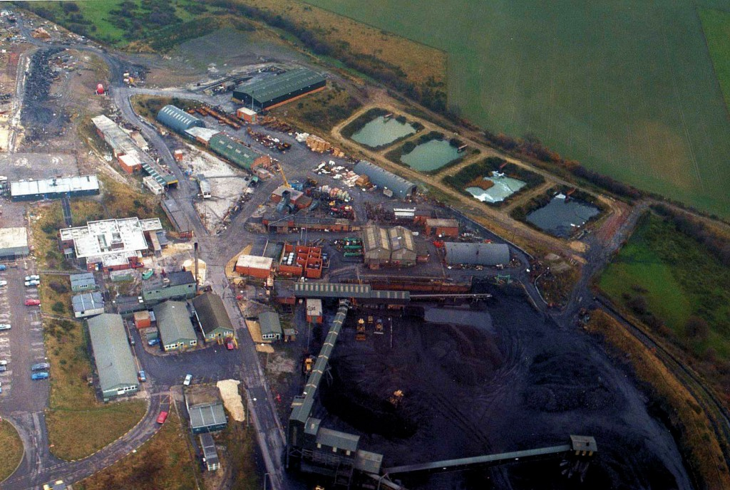 Aerial View of High Moor Colliery