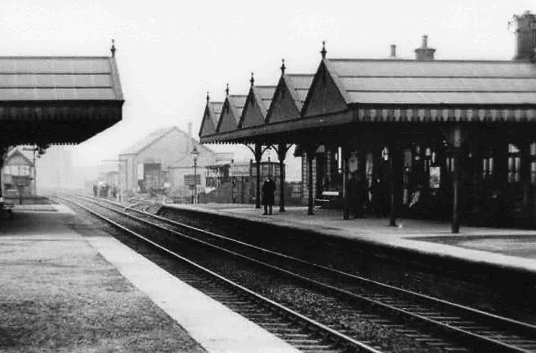 An early photograph of Killamarsh Central