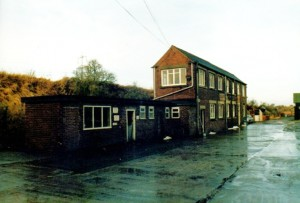 Page Feeds in 1986.  Note the office block and weigh-bridge.  The office can be seen to the left in the old Glover's Mill photo.  Photo courtesy of David Page.