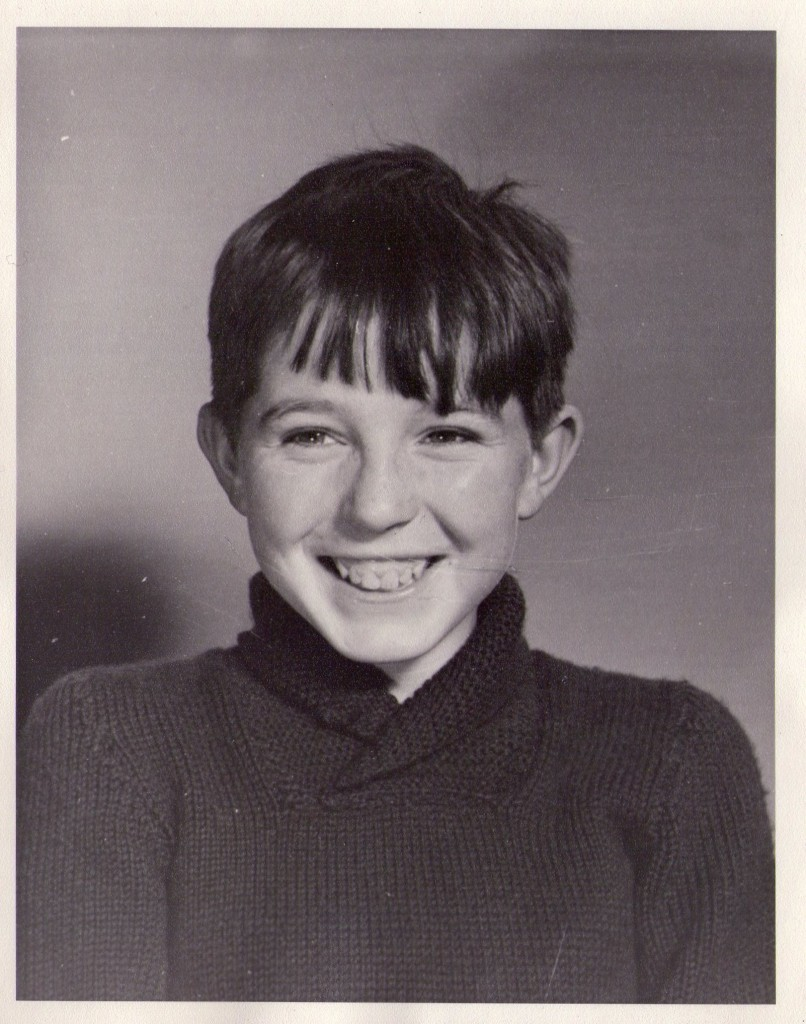 Me as a boy