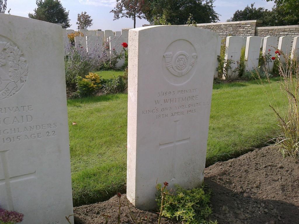 W. Whitmore's grave
